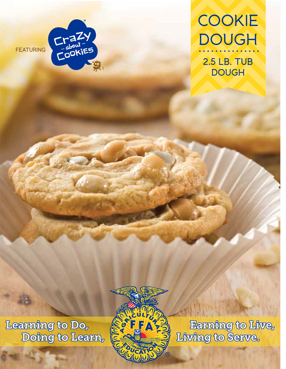 FFA Cookie Dough Fundraising Brochure